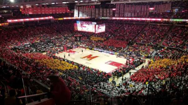 Xfinity Center (Maryland), section: 217, row: 11, seat: 1