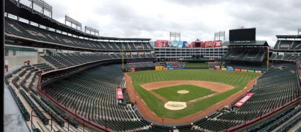 Globe Life Park in Arlington, section: 228, row: 4