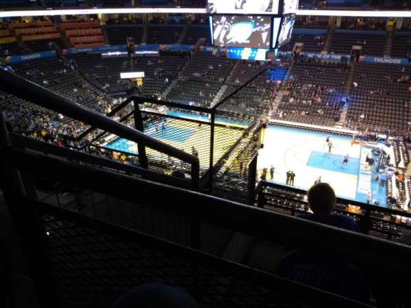 Chesapeake Energy Arena, section: 322, row: E, seat: 18