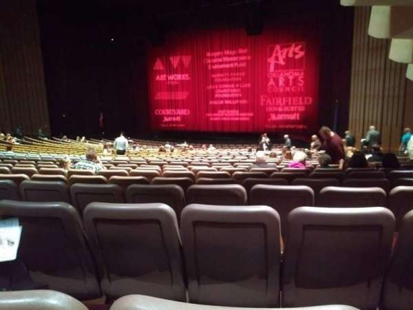 Chapman Music Hall - Tulsa Performing Arts Center, section: OR, row: AA, seat: 27