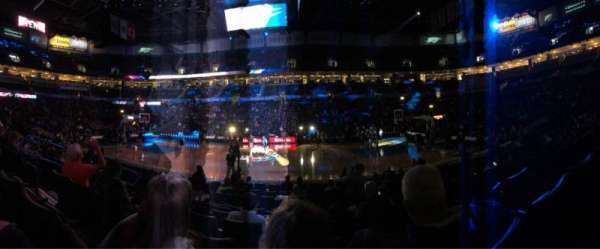 Chesapeake Energy Arena, section: 105, row: G, seat: 14