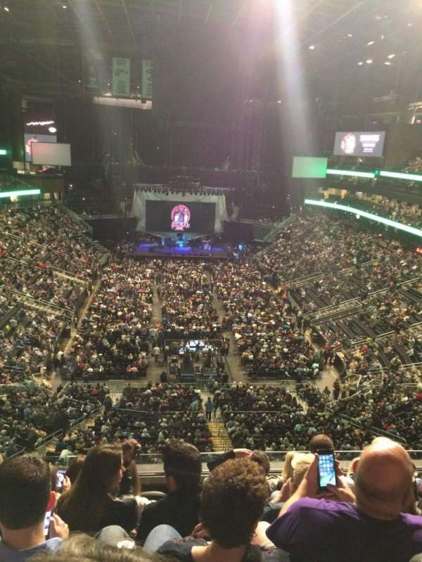 State Farm Arena, section: 215, row: G, seat: 20