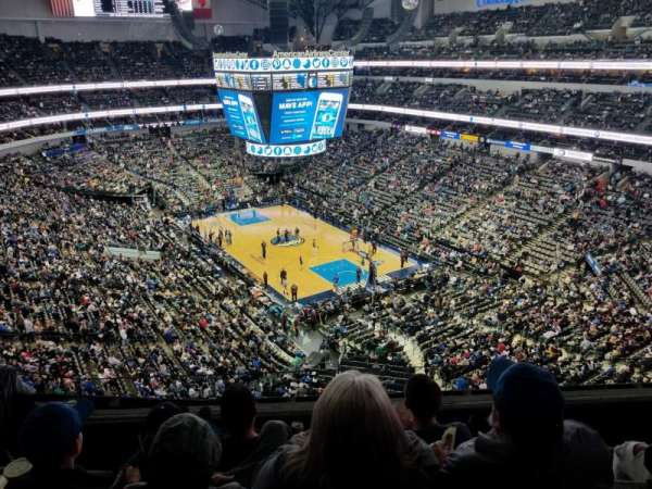 American Airlines Center , section: 321, row: D, seat: 5