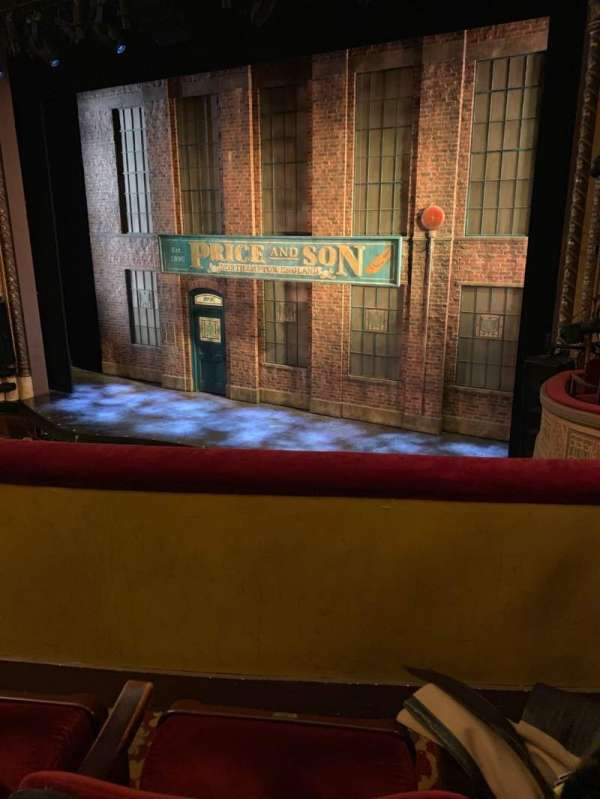 Al Hirschfeld Theatre, section: Mezzanine R, row: B, seat: 14