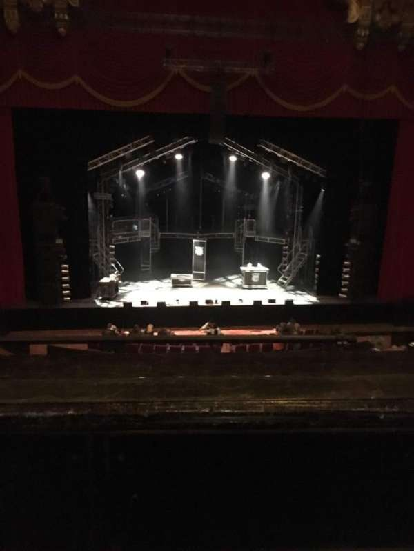 The Fabulous Fox Theatre (St. Louis), section: Mezzanine 4, row: BB, seat: 113