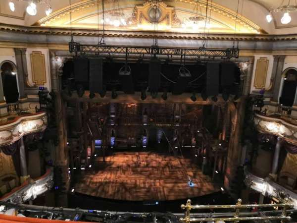 Victoria Palace Theatre, section: Grand Circle, row: D, seat: 21