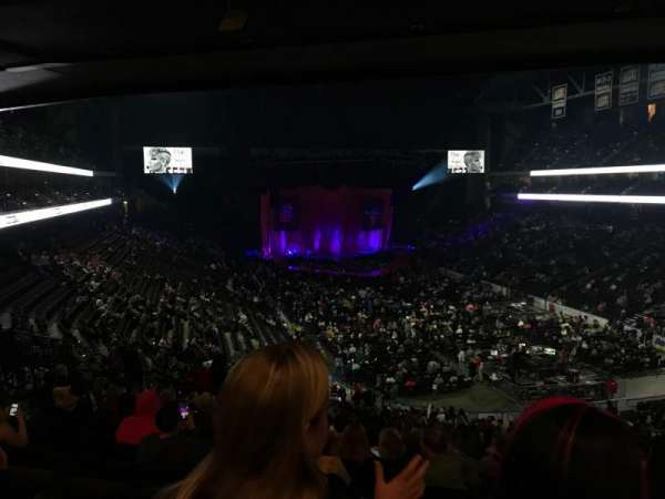VyStar Veterans Memorial Arena, section: 110, row: GG, seat: 113