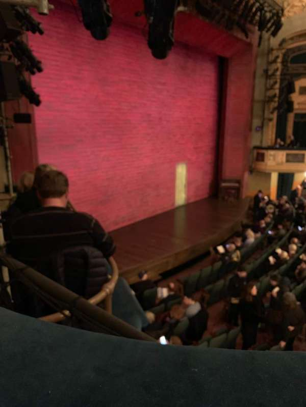 Shubert Theatre, section: Mezzanine L, row: A, seat: 27