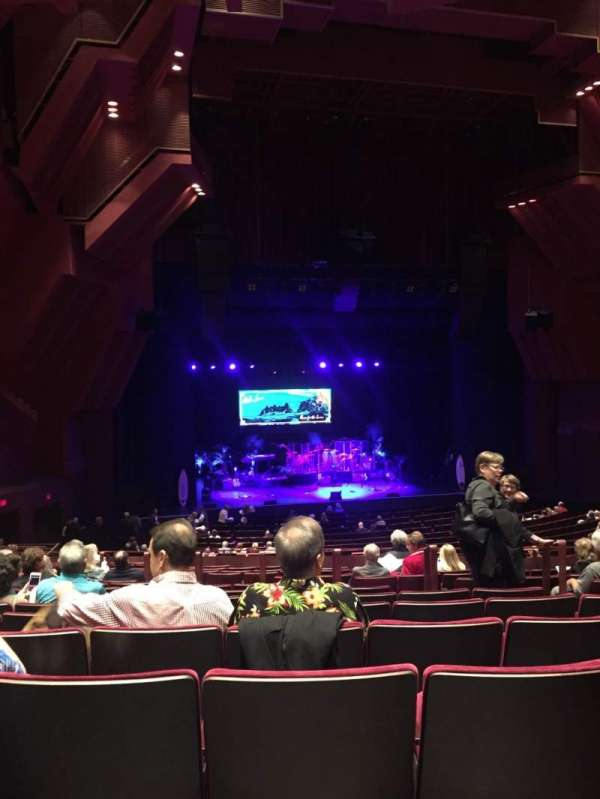 segerstrom hall, section: Orchestra Terrace, row: Q, seat: 113