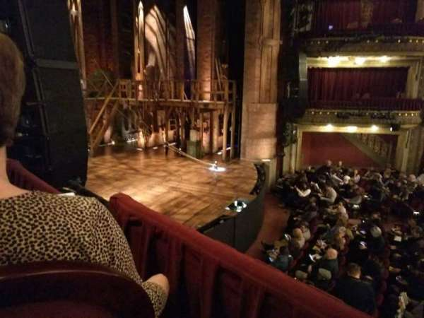 CIBC Theatre, section: DCRBX3, row: BX3, seat: 7