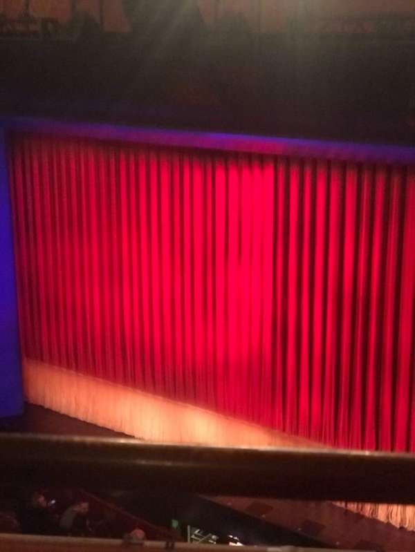 Longacre Theatre, section: Balcony R, row: A, seat: 9