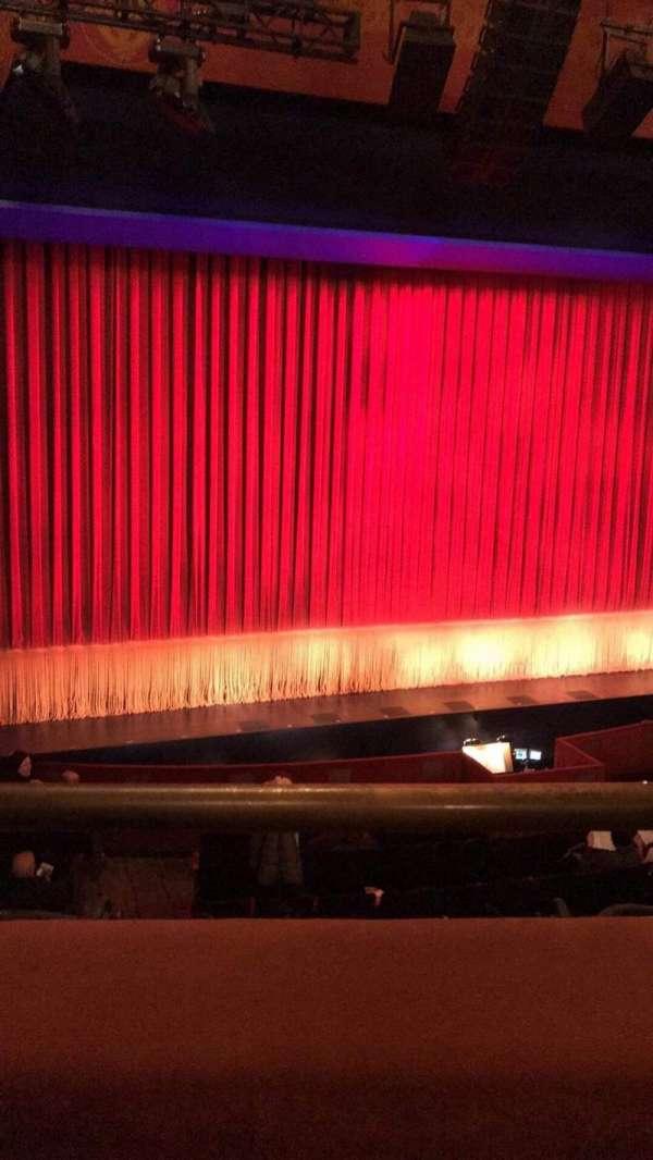 Longacre Theatre, section: Mezzanine L, row: A, seat: 2