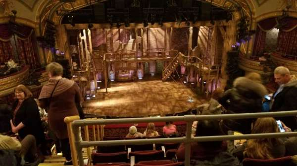 Richard Rodgers Theatre, section: Rear Mezzanine C, row: G, seat: 114