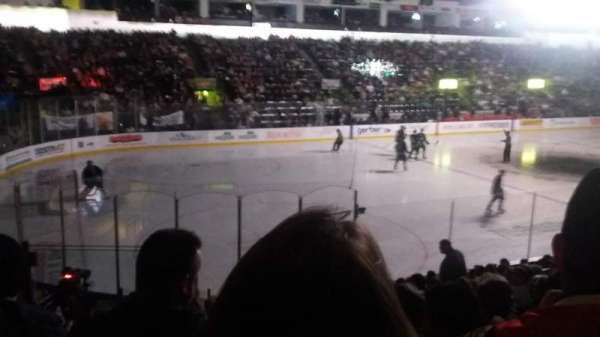 Accesso ShoWare Center, section: 113, row: 13, seat: 3