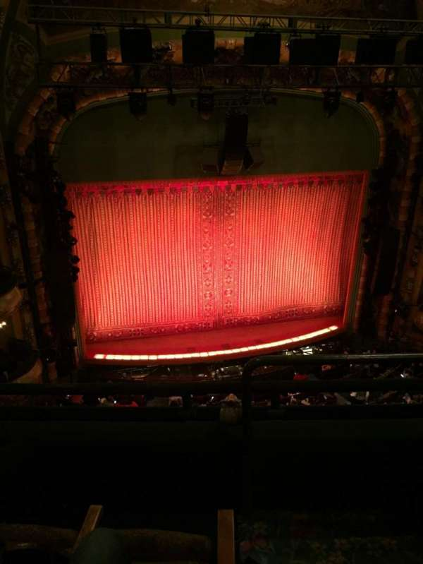 New Amsterdam Theatre, section: Balcony L, row: C, seat: 3
