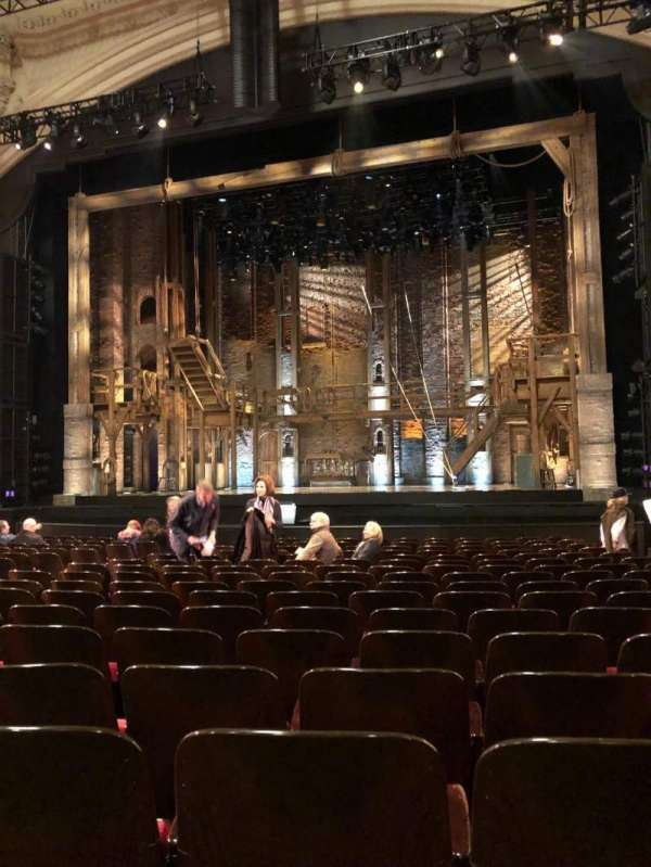 Orpheum Theatre (San Francisco), section: Orchestra Center, row: R, seat: 120