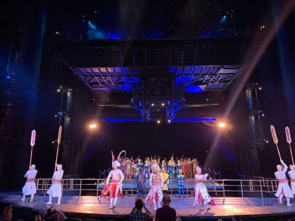 KÀ Theatre - MGM Grand, section: 102, row: H, seat: 12