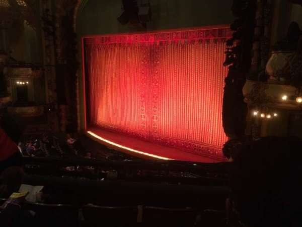 New Amsterdam Theatre, section: Mezzanine R, row: DD, seat: 28