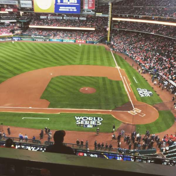 Minute Maid Park, section: 314, row: 5, seat:  15
