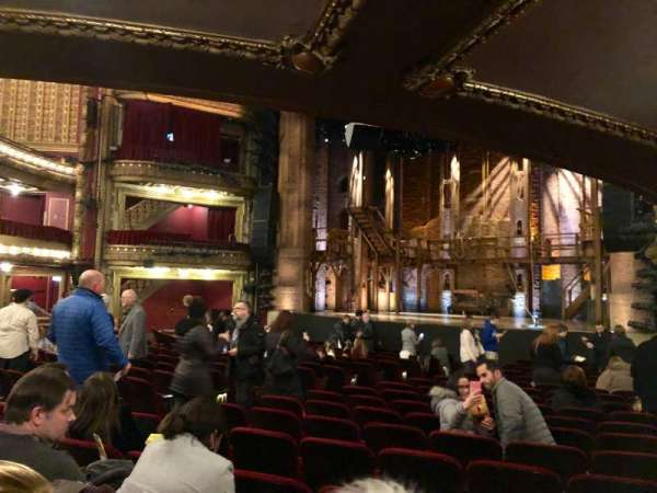 CIBC Theatre, section: Orchestra R, row: T, seat: 14