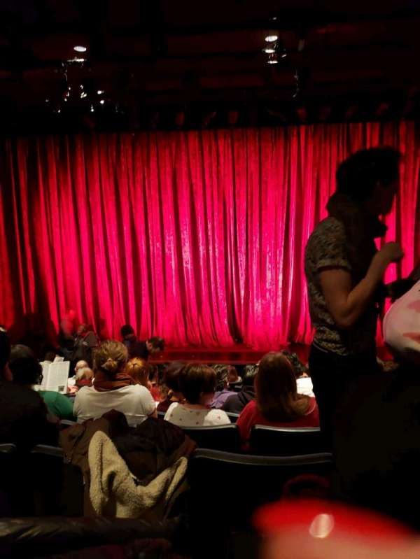New World Stages - Stage 4, section: Orchestra C, row: L, seat: 106