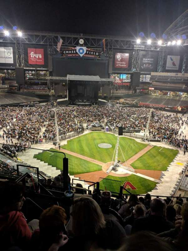 Chase Field Section 317 Row 11 Seat 18