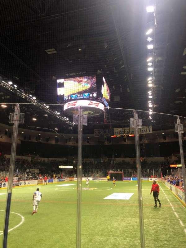 Pechanga Arena, section: LL18, row: 4, seat: 1