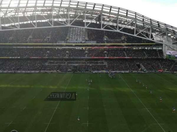 Aviva Stadium, section: 504, row: H, seat: 10