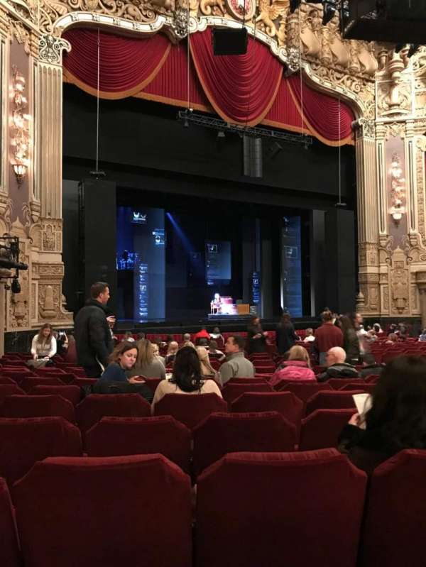 Nederlander Theatre (Chicago), section: ORCH-L, row: V, seat: 25