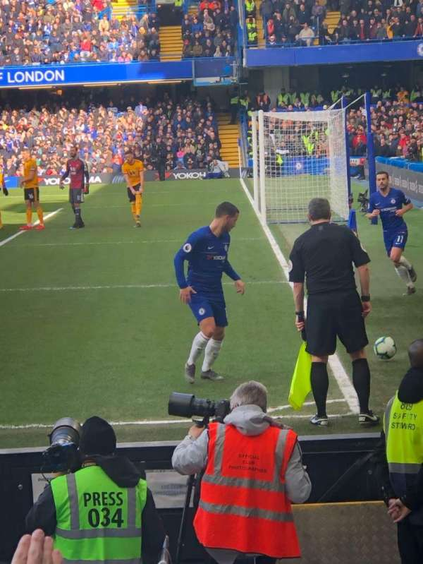 Stamford Bridge, section: West Stand Lower 1, row: 10, seat: 4