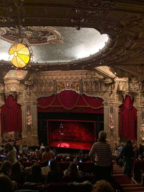 James M. Nederlander Theatre, section: Balcony RC, row: T, seat: 336