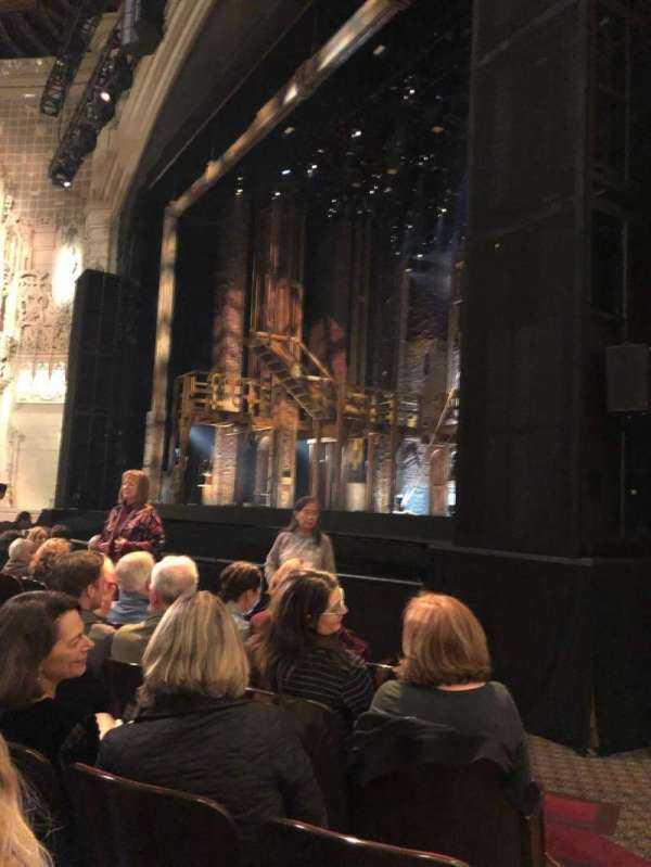 Orpheum Theatre (San Francisco), section: Orchestra R, row: G, seat: 14 and 16