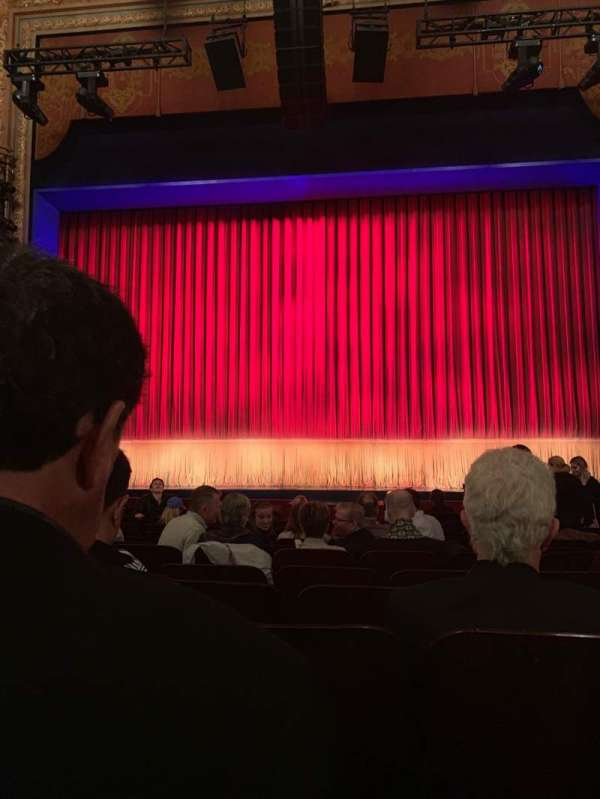 Longacre Theatre, section: Orchestra C, row: M, seat: 106