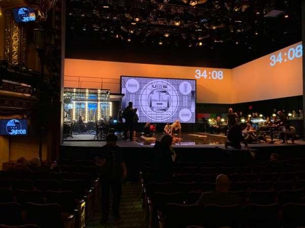 Belasco Theatre, section: Orchestra C, row: E, seat: 101