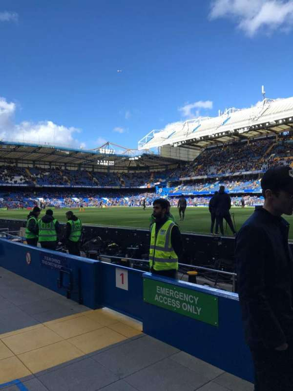 Stamford Bridge, section: West Stand Lower 1, row: 1, seat: 146