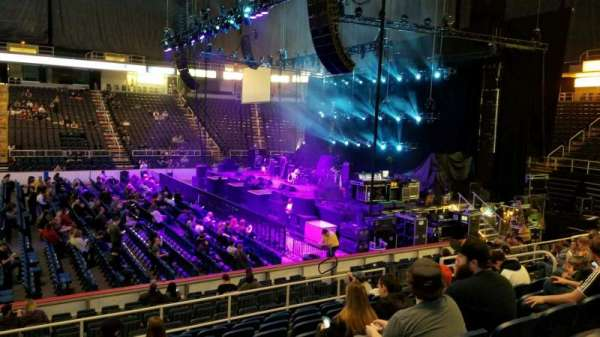 Times Union Center, section: 119, row: K, seat: 15