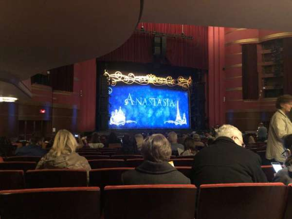 Kansas City Music Hall, section: Left orchestra, row: BB, seat: 5