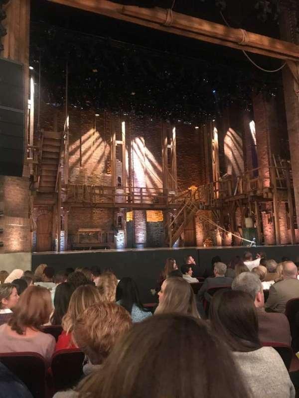 CIBC Theatre, section: ORCH-L, row: L, seat: 7