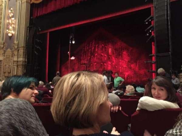 Nederlander Theatre (Chicago), section: Orchestra R, row: L, seat: 12