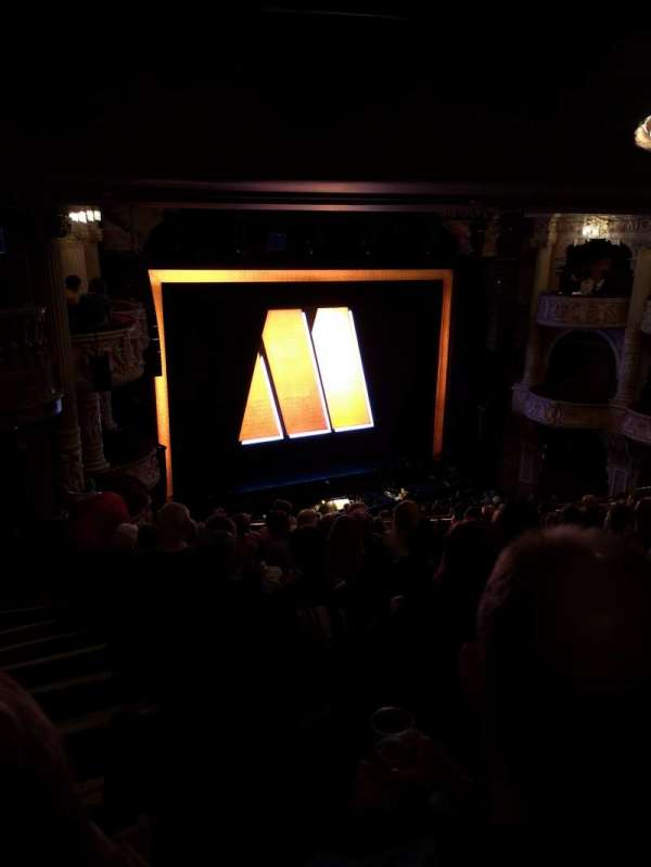Shaftesbury Theatre, section: Royal circle, row: K, seat: 35
