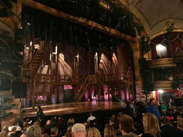 Richard Rodgers Theatre, section: ORCH LEFT, row: L, seat: 21