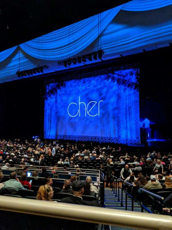 Park Theater at Park MGM, section: 303, row: A, seat: 1and2