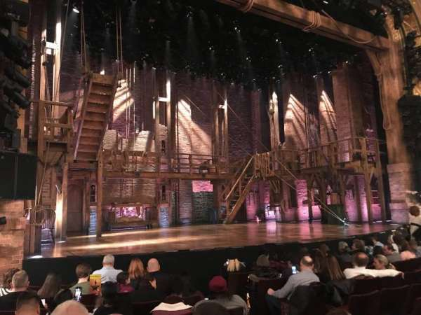 Richard Rodgers Theatre, section: Orchestra, row: H, seat: 9
