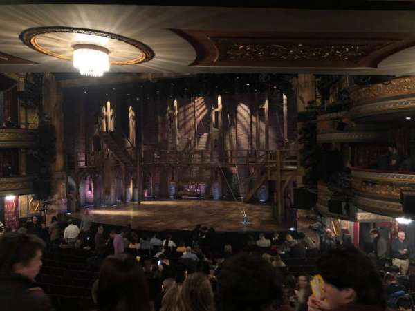 Richard Rodgers Theatre, section: Orchestra R, row: R, seat: 16
