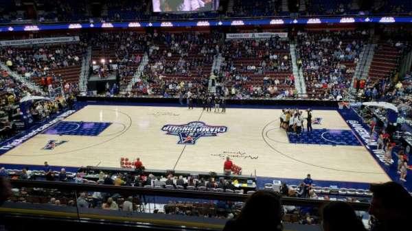 Mohegan Sun Arena, section: 106, row: C, seat: 8