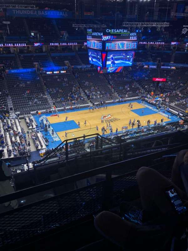 Chesapeake Energy Arena, section: 326, row: J, seat: 4