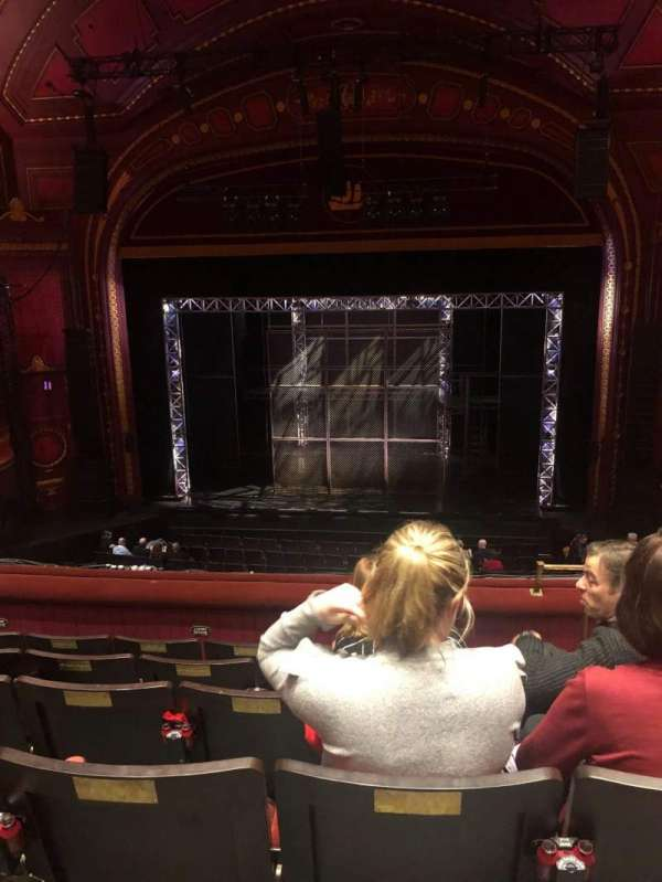 Mayflower Theatre, section: Dress Circle, row: F, seat: 15