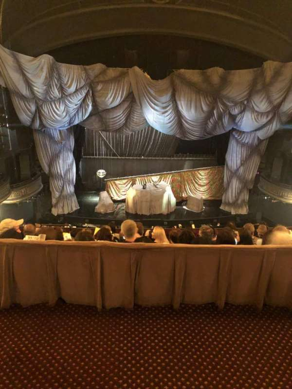 Majestic Theatre, section: Rear Mezzanine LC, row: A, seat: 105
