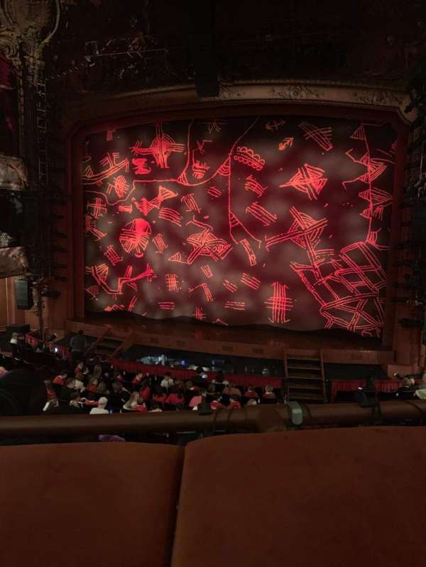 Lyceum Theatre (West End), section: Royal circle, row: A, seat: 17