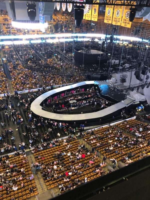 TD Garden, section: S13, seat: 4